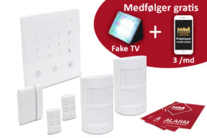 Alarmpakke - Trådløs EasyPro GSM