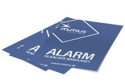 Mimus alarmmærker