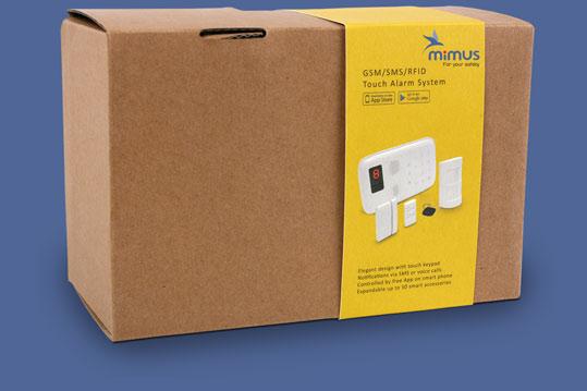 Mimus alarm - kasse