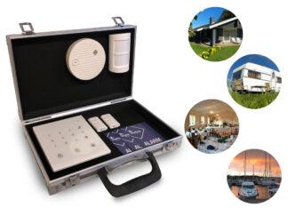 Kuffertalarm til sommerhus, ferie selskabslokale og meget mere